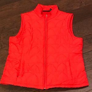 Jane Ashley XL Orange Vest